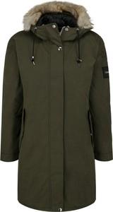 Zielona kurtka Calvin Klein w stylu casual