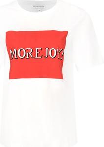 T-shirt Silvian Heach z okrągłym dekoltem w młodzieżowym stylu