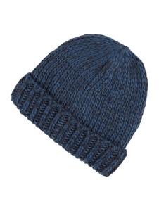 Niebieska czapka McNeal z dzianiny