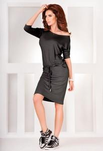 Sukienka NUMOCO z długim rękawem mini sportowa