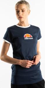 T-shirt Ellesse z okrągłym dekoltem z krótkim rękawem