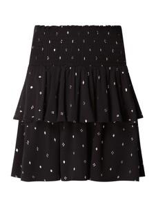 Czarna spódnica Review mini w stylu casual