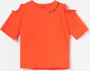 Bluza dziecięca Reserved z krótkim rękawem