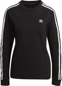Bluzka Adidas w sportowym stylu z długim rękawem