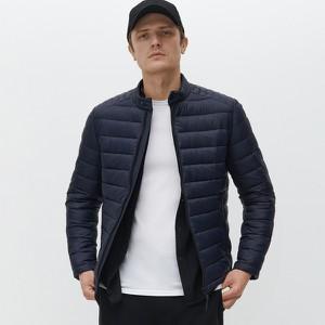 Granatowa kurtka Reserved krótka w stylu casual