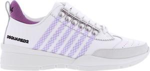 Buty sportowe Dsquared2 z płaską podeszwą