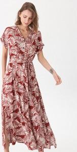 Sukienka House z krótkim rękawem w stylu boho maxi