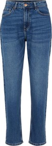 Niebieskie jeansy Pieces w stylu klasycznym