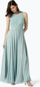 Niebieska sukienka Marie Lund bez rękawów