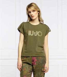 Zielony t-shirt Liu-Jo