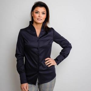 Granatowa bluzka Willsoor