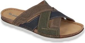 Brązowe buty letnie męskie Inblu