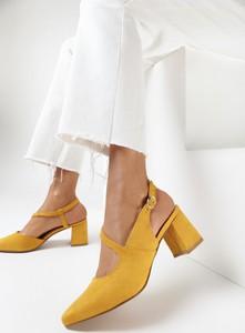 Żółte czółenka born2be