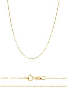 Irbis.style złoty łańcuszek ankier