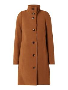 Brązowy płaszcz Montego w stylu casual