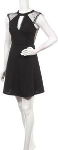 Czarna sukienka Hd Diffusion bez rękawów mini