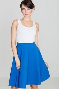 Niebieska spódnica LENITIF midi