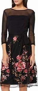 Sukienka amazon.de midi dla puszystych w stylu casual
