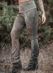 Spodnie Sandbella w militarnym stylu z dresówki
