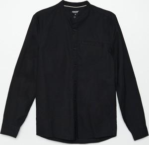 Czarna koszula Cropp z długim rękawem