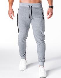 Spodnie sportowe ombre clothing z bawełny