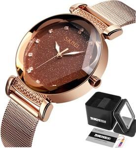 Zegarek damski SKMEI 9188 złoty BROKAT