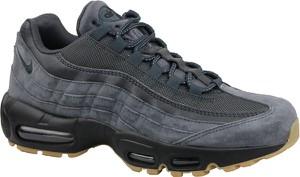 Buty sportowe Nike z zamszu sznurowane w młodzieżowym stylu