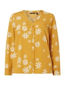 Żółta bluzka Vero Moda w stylu casual