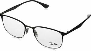 amazon.de Ray-Ban 0RX6421 oprawki do okularów, uniseks, szare, kolor srebrny na górze szary, 52