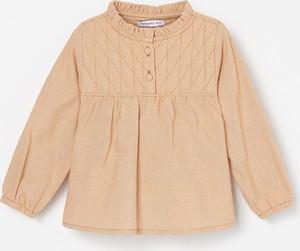 Pomarańczowa bluzka dziecięca Reserved