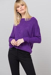 Fioletowy sweter Monnari w stylu casual
