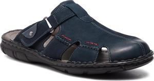 Czarne buty letnie męskie Lasocki For Men