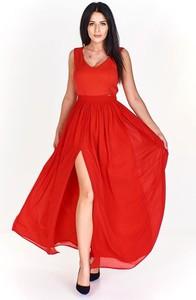 Sukienka Pawelczyk24.pl z dekoltem w kształcie litery v