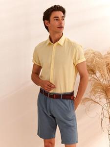 Koszula Top Secret z krótkim rękawem w stylu casual