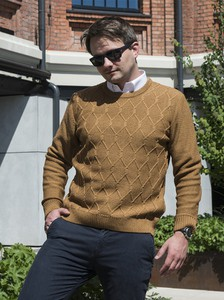 Brązowy sweter M. Lasota