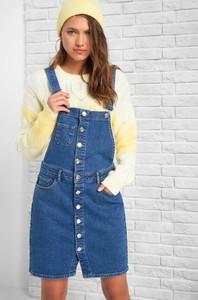 Niebieska spódnica ORSAY mini