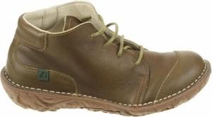 Zielone buty dziecięce zimowe El Naturalista