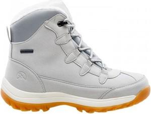 Buty trekkingowe sklepiguana sznurowane z płaską podeszwą w sportowym stylu