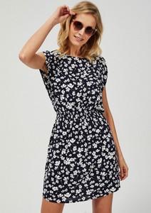 Sukienka Moodo mini z krótkim rękawem
