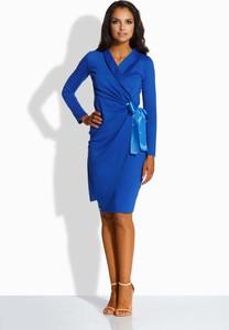 Niebieska sukienka Lemoniade midi