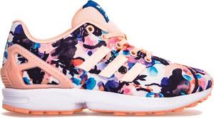 Buty sportowe Adidas z płaską podeszwą zx flux