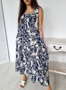 Sukienka Ottanta midi dla puszystych