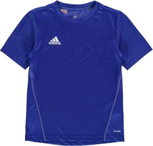 Niebieska koszulka Adidas