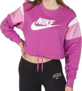 Bluza Nike w sportowym stylu krótka z dzianiny