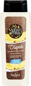 Tutti Frutti, olejek do kąpieli i pod prysznic, Ananas & Kokos, 100 ml