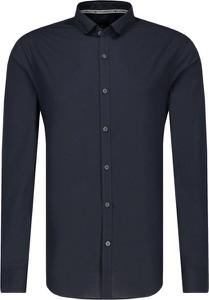 Czarna koszula Armani Exchange z długim rękawem