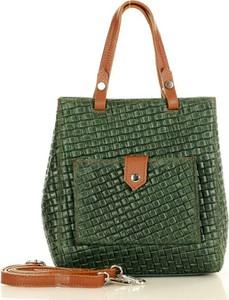 Zielona torebka MAZZINI