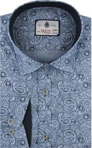 Niebieska koszula BIG PARIS