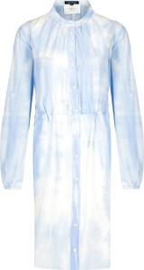 Sukienka Marc O'Polo z jedwabiu z długim rękawem