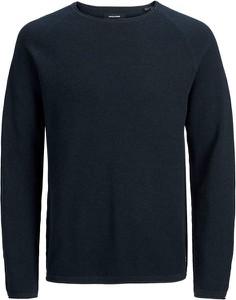 Niebieski sweter Jack & Jones w stylu casual